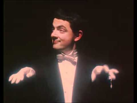 Air Piano | Rowan Atkinson's Piano Mime