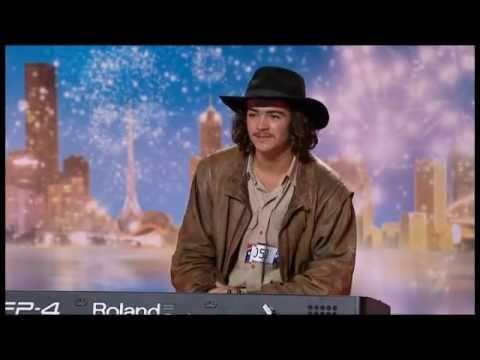 Chooka Parker – Farmhand Shows how to play the piano