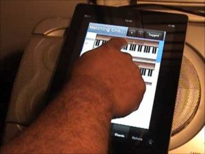 Piano Chord Finding App for smartphones and tablets