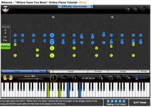 Piano Tutorial Interface