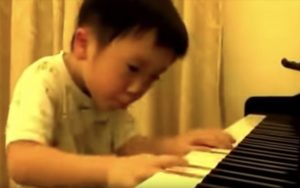 Piano Playing is Child's Play
